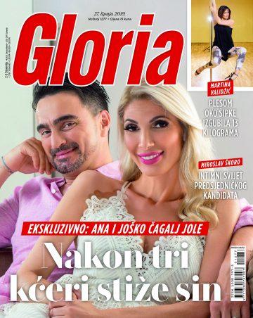 Gloria - naslovnica