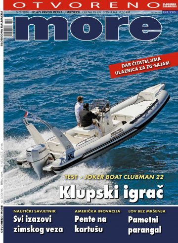 Otvoreno more - naslovnica