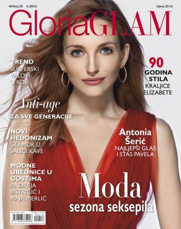 Gloria Glam - naslovnica