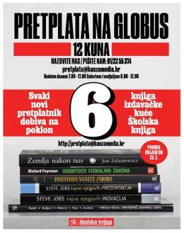 Globus + paket knjiga