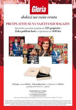 Gloria + Zaks poklon bon 400 kn