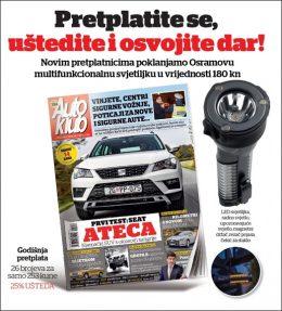 Auto klub + Osram svjetiljka - naslovnica