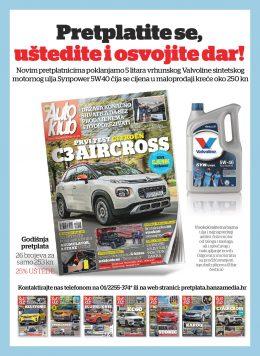 Auto klub + Valvoline motorno ulje - naslovnica