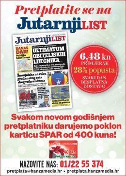 Jutarnji list + Spar 400 - naslovnica