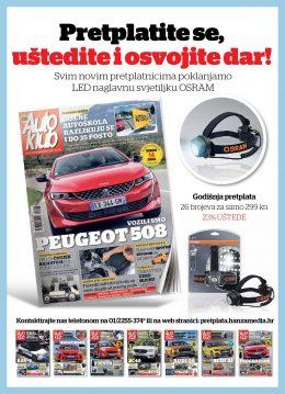 Auto klub + naglavna svjetiljka - naslovnica