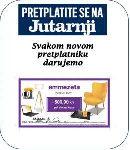 Jutarnji list + Emmezeta bon - naslovnica