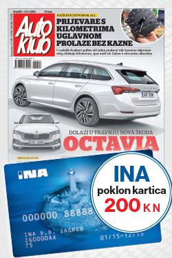 AUTO KLUB + INA - naslovnica