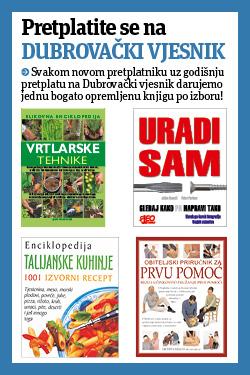 Dubrovački Vjesnik + knjige - naslovnica