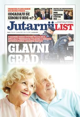 Godišnja pretplata na Jutarnji list za umirovljenike! - naslovnica