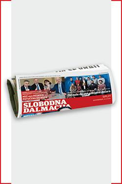 Omiljene novine stižu ti na kućnu adresu po super cijeni – Slobodna Dalmacija - naslovnica