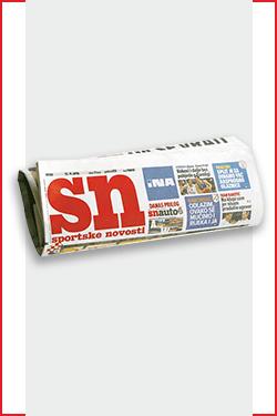 Omiljene novine stižu ti na kućnu adresu po super cijeni – Sportske novosti - naslovnica