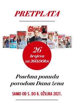 Glorija – posebna ponuda za Međunarodni dan žena