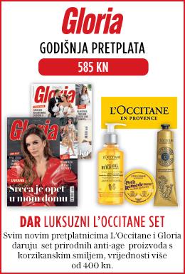 Gloria uz poklon set L'Occitane - naslovnica